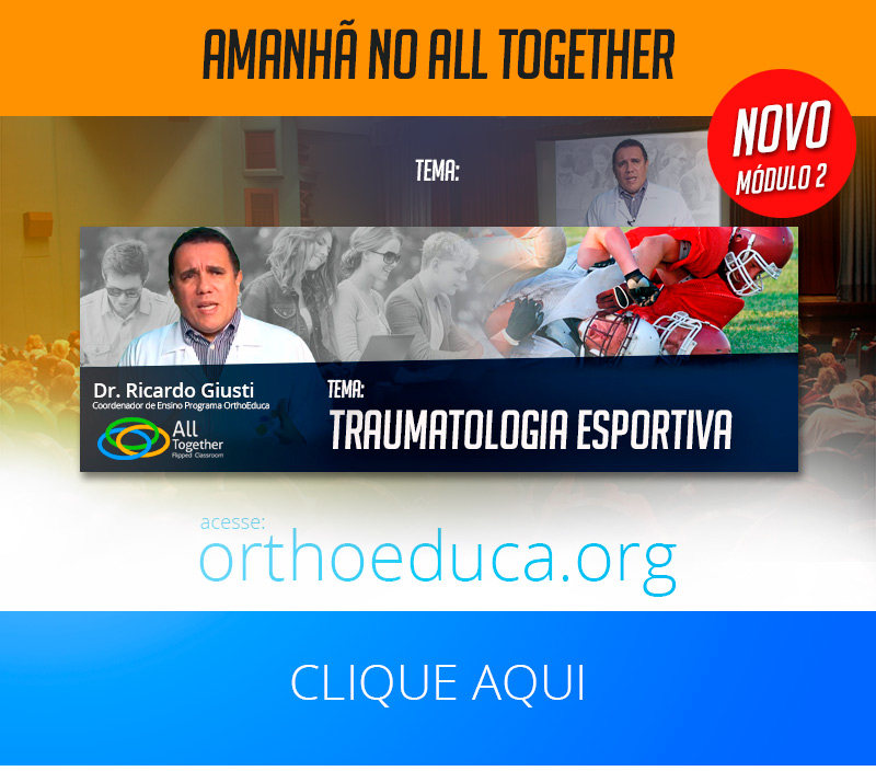 Traumatologia Esportiva - Amanhã no All Together